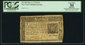 Colonial Notes:New York, New York March 5, 1776 $1/2 PCGS Apparent Very Fine 30.. ...