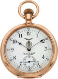 Timepieces:Pocket (pre 1900) , E. Howard & Co. Rare 14k Gold Series VIII For Webb. C. BallCleveland, circa 1889. ...