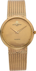 Timepieces:Wristwatch, Baume & Mercier 14k Gold Gent's Wristwatch. ...