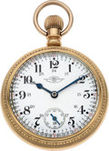 Timepieces:Pocket (post 1900), Ball, Hamilton 23 Jewel Grade 999 Official RR Standard Rare Dial....