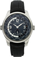 Timepieces:Wristwatch, Girard Perregaux Ref. 49865 Small Seconds WW.TC Steel Wristwatch....