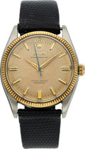 Timepieces:Wristwatch, Rolex Ref. 6567 Two Tone Oyster Perpetual For Restoration. ...