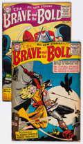 Golden Age (1938-1955):Miscellaneous, The Brave and the Bold #3 and 4 Group (DC, 1955-56) Condition: Average GD/VG.... (Total: 2 Comic Books)