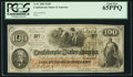 Confederate Notes:1862 Issues, T41 $100 1862 PF-25 Cr. 31A.. ...