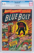 Golden Age (1938-1955):Science Fiction, Blue Bolt #109 (Star Publications, 1951) CGC FN- 5.5 Cream tooff-white pages....