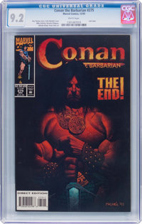 Conan the Barbarian #275 (Marvel, 1993) CGC NM- 9.2 White pages