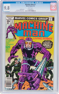 Machine Man #1 (Marvel, 1978) CGC NM/MT 9.8 White pages