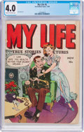 Golden Age (1938-1955):Romance, My Life #5 (Fox Features Syndicate, 1948) CGC VG 4.0 Cream tooff-white pages....