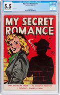 Golden Age (1938-1955):Romance, My Secret Romance #2 (Fox Features Syndicate, 1950) CGC FN- 5.5Off-white to white pages....
