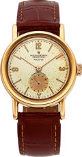 "Timepieces:Wristwatch, Rolex Rare Ref. 3716 Rose Gold ""Empire"" Oyster Perpetual, circa1946. ..."