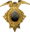 Political:Ferrotypes / Photo Badges (pre-1896), Ulysses S Grant: One of the Premier Ferrotype Pins from the 1868Campaign....