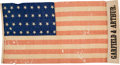 Political:Textile Display (pre-1896), James A. Garfield: Large Campaign Flag....