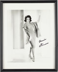 Music Memorabilia:Documents, A Connie Francis Group of Miscellaneous Framed Items, Circa1960s-2000s.... (Total: 6 Items)
