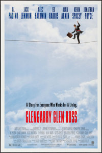 """Glengarry Glen Ross & Others Lot (New Line, 1992). One Sheets (3) (27"""" X 40"""", 27"""" X 41"""") DS. Dra..."""