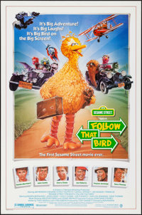 """Follow that Bird & Others Lot (Warner Brothers, 1985). One Sheets (3) (27"""" X 40"""" & 27"""" X 41""""..."""