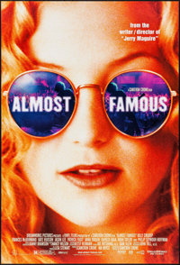 """Almost Famous & Others Lot (DreamWorks, 2000). One Sheets (4) (27"""" X 40""""). DS. Drama. ... (Total: 4 It..."""