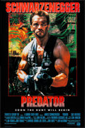 "Movie Posters:Science Fiction, Predator (20th Century Fox, 1987). International One Sheet (26.25"" X 39.75"") Advance. Science Fiction.. ..."