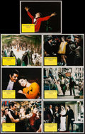 "Movie Posters:Musical, Funny Girl (Columbia, R-1972). Lobby Cards (7) (11"" X 14""). Musical.. ... (Total: 7 Items)"