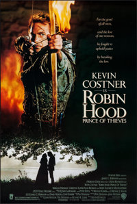 """Robin Hood: Prince of Thieves & Others Lot (Warner Brothers, 1991). One Sheets (3) (27"""" X 40"""" & 27&quo..."""