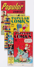 Golden Age (1938-1955):Miscellaneous, Popular Comics Group of 6 (Dell, 1940-49) Condition: Average VG-.... (Total: 6 Comic Books)