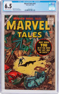 Silver Age (1956-1969):Horror, Marvel Tales #153 (Atlas, 1956) CGC FN+ 6.5 Cream to off-whitepages....