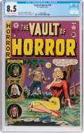 Golden Age (1938-1955):Horror, Vault of Horror #19 (EC, 1951) CGC VF+ 8.5 Off-white to whitepages....
