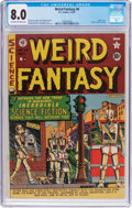 Golden Age (1938-1955):Science Fiction, Weird Fantasy #6 (EC, 1951) CGC VF 8.0 Off-white to white pages....