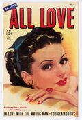 Golden Age (1938-1955):Romance, All Love #32 (Ace, 1950) Condition: FN+....
