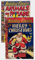 Golden Age (1938-1955):Miscellaneous, Holiday Comics #1 and 2 Group (Star Publications, 1951) Condition: Average VG.... (Total: 2 Comic Books)