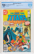 Modern Age (1980-Present):Superhero, New Teen Titans #2 (DC, 1980) CBCS NM+ 9.6 White pages....