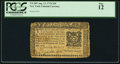 Colonial Notes:New York, New York August 13, 1776 $10 PCGS Fine 12.. ...
