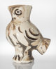 Pablo Picasso (1881-1973) Wood Owl, 1969 Glazed white earthenware vase, painted in black 11-1/4 x 9-1/4 x 6 inches (2