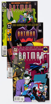 Batman Adventures Group of 32 (DC, 1992-95) Condition: Average NM-.... (Total: 32 Comic Books)