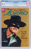 Silver Age (1956-1969):Western, Zorro #8 File Copy (Dell, 1960) CGC NM+ 9.6 Off-white to whitepages....