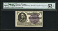 "Miscellaneous:Other, World's Columbian Exposition 1893 Engraved Franklin with ""A""Overprint Admittance Ticket.. ..."