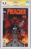 Modern Age (1980-Present):Horror, Preacher #1 Signature Series (DC, 1995) CGC NM+ 9.2 White pages....