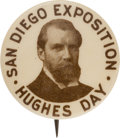 Political:Pinback Buttons (1896-present), Charles Evans Hughes: Single Day Event Button....
