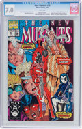 Modern Age (1980-Present):Superhero, The New Mutants #98 (Marvel, 1991) CGC FN/VF 7.0 White pages....