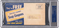 Hockey Collectibles:Others, 1953 Detroit Red Wings Stars Multi-Signed Envelope....