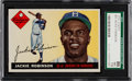 Baseball Cards:Singles (1950-1959), 1955 Topps Jackie Robinson #50 SGC 86 NM+ 7.5....