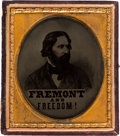 Political:Miscellaneous Political, John C. Frémont: A Rare and Important 1856 Sixth Plate AmbrotypeImage Issued in Support of the First Republican Presidential ...