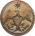 Political:3D & Other Display (pre-1896), George Washington: Brass 1789 Inaugural Coat Button....