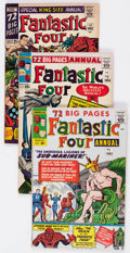 Silver Age (1956-1969):Superhero, Fantastic Four Annual #1-6 Group (Marvel, 1963-68) Condition: Average VG.... (Total: 6 Comic Books)