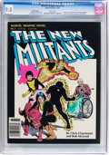 Modern Age (1980-Present):Superhero, Marvel Graphic Novel #4 The New Mutants (Marvel, 1982) CGC NM/MT9.8 White pages....