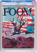 Magazines:Superhero, Foom #15 (Marvel, 1976) CGC NM/MT 9.8 White pages....