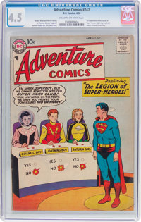 Adventure Comics #247 (DC, 1958) CGC VG+ 4.5 Cream to off-white pages