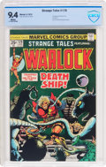Bronze Age (1970-1979):Superhero, Strange Tales #179 Adam Warlock (Marvel, 1975) CBCS NM 9.4 White pages....