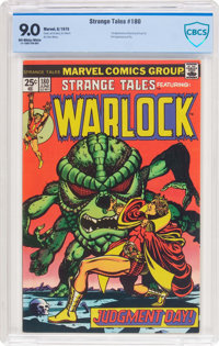 Strange Tales #180 Adam Warlock (Marvel, 1975) CBCS VF/NM 9.0 Off-white to white pages