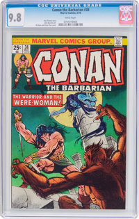 Conan the Barbarian #38 (Marvel, 1974) CGC NM/MT 9.8 White pages
