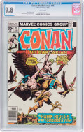 Bronze Age (1970-1979):Miscellaneous, Conan the Barbarian #75 (Marvel, 1977) CGC NM/MT 9.8 Whitepages....